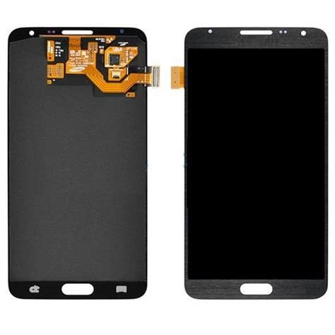 Lcd Samsung Note 3 Neo lcd with touch screen for samsung galaxy note 3 neo black by maxbhi