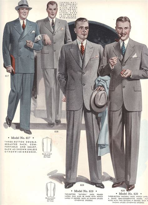 a popular style of 1930s suit 158 best images about mens 1930 s fashion on pinterest