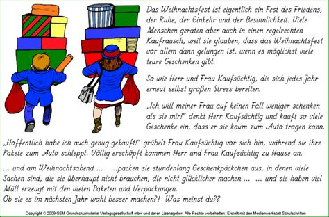 Geschichten Zu Weihnachten Zum Nachdenken 4792 by Herr Und Frau Kaufs 252 Chtig Eine Geschichte Zum Nachdenken