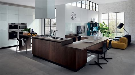 Modern Kitchen Living Room Ideas by 20 Contemporary Compositions That Unite The Living Room