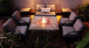 Apartment Patio Privacy Ideas 15 Various Kinds Of Fire Pit Table To Use In Your
