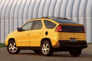 Aztec Pontiac Pontiac Aztek Rear Three Quarters Photo 10