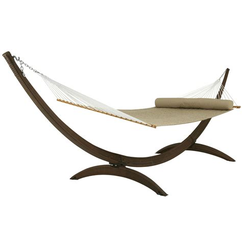 Hammock Stand Arc All Weather Wicker Stand Sar Wick Hatteras