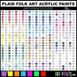 plaid folk art acrylic paint colors plaid folk art paint colors folk art color folk art