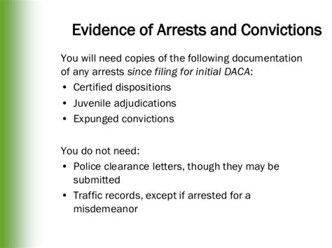 Daca Renewal Criminal Record Daca Renewal
