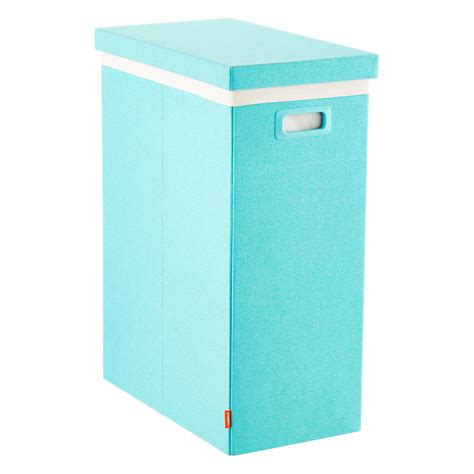 tall laundry hamper with lid