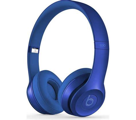 Headphone Beats Blue beats by dr dre 2 headphones royal edition sapphire blue