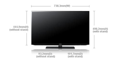 Tv Led Ukuran 14 Inch led seri 5 32 ua32eh5000m samsung indonesia