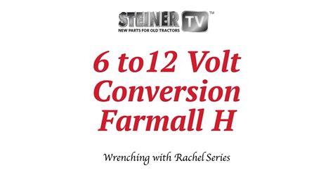 farmall h 12 volt conversion wiring diagram 43 wiring