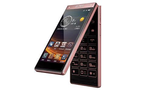 mobile flip gionee w909 flip phone with dual touchscreens fingerprint