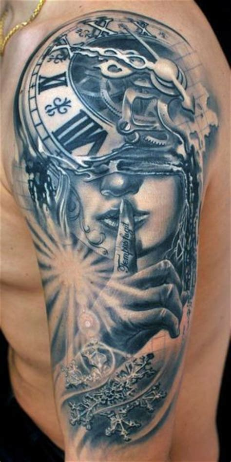 tattoo 3d zegar 17 best images about tattoos on pinterest on back back