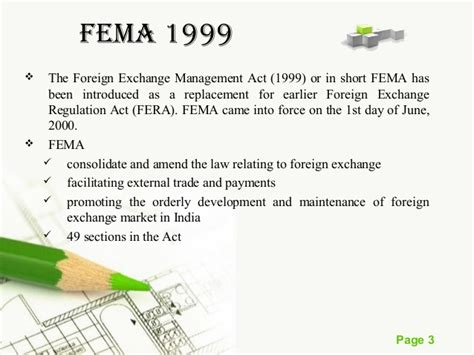 Section 3 Of Fema by Fema Ppt