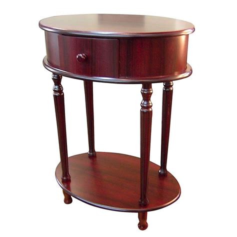 home decorators table home decorators collection cherry storage side table h 114