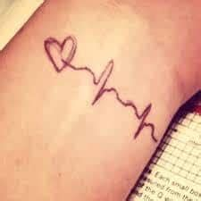 ekg tattoo meaning ekg meaning ideas ekg tattoos and designs