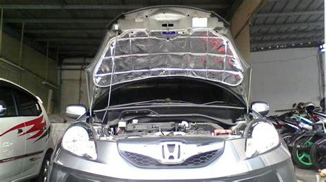 Peredam Panas Dan Suara Kap Mesin Honda Mobilio jual honda freed peredam kap mesin chezaa olshop