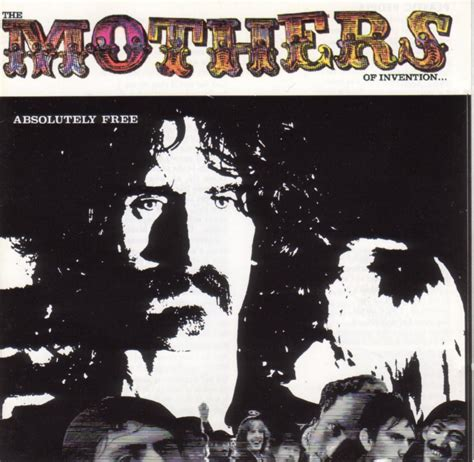 Completely Free Records Frank Zappa The Mothers Of Invention Absolutely Free Zappa Records Universal