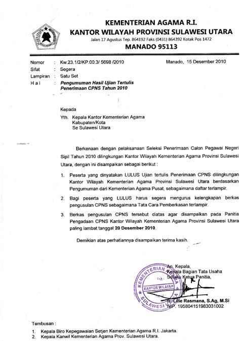 surat resmi seluk beluknya contoh surat resmi bagian ii