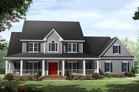 Country Style House Plan   4 Beds 3.5 Baths 5167 Sq/Ft
