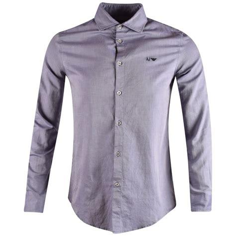 Kaosbajut Shirt Armani 2 emporio armani armani sky blue fantasia sleeve shirt from brother2brother uk