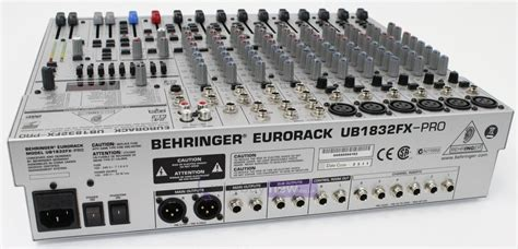 Mixer Behringer Ub1832fx Pro behringer eurorack ub1832fx pro whybuynew
