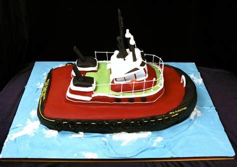 tugboat cake tug boat cake boat cake fondant cake ship and fishing