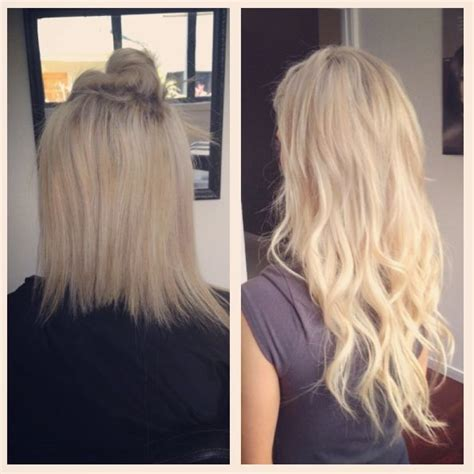 hair extremely thin after extensions before and after tape weft hair extensions at miss bliss
