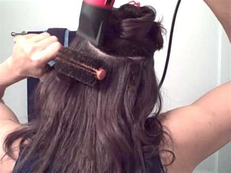 the trick to roller setting wet hair dominican blowout roller set on natural hair and dominican blow out lucys