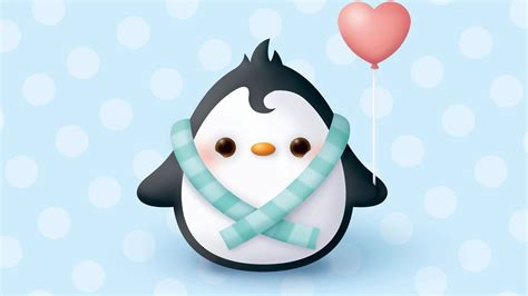 wallpaper cartoon animation moving penguin wallpapers wallpapersafari