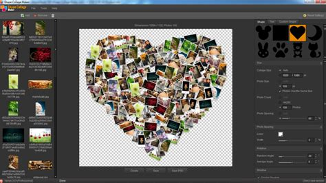 photo maker shape collage maker