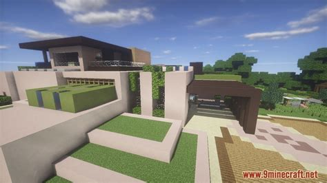 Minecraft Redstone House Maps by Redstone House Map 1 12 2 1 11 2 For Minecraft