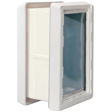 Ideal Pet Doors by Shop Ideal Pet Products Medium Plastic Wall Pet Door