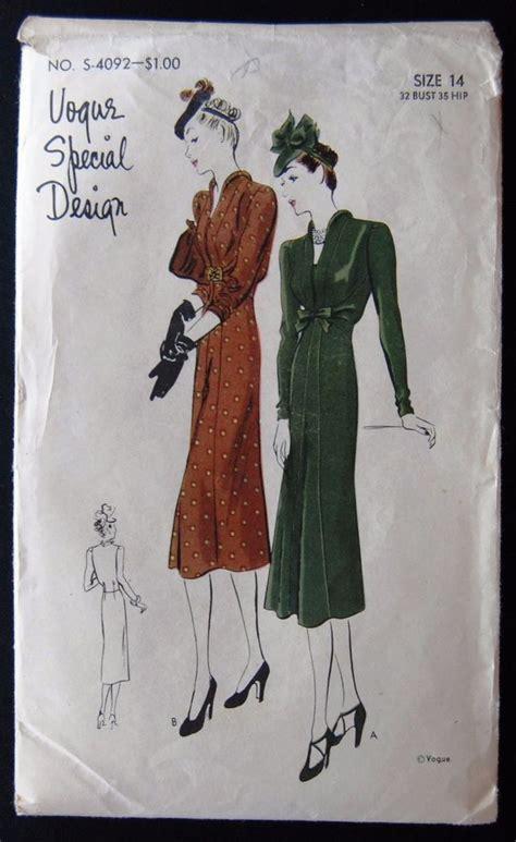 311 best retro fashion 1930s vogue images on vintage fashion fashion patterns