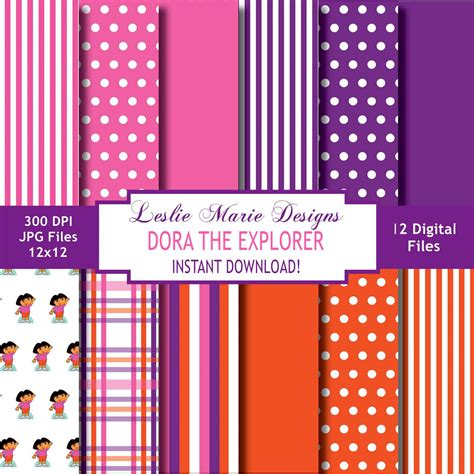 pattern explorer download dora the explorer digital backgrounds dora the explorer