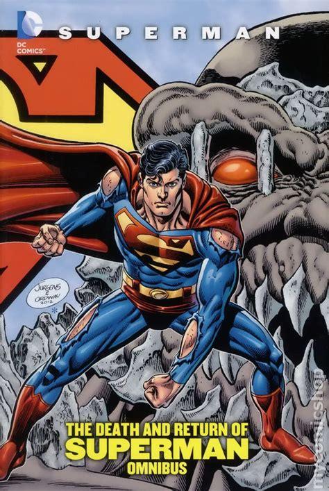 dc rebirth omnibus hc 1401267424 comic books in death and return of superman