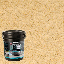 Restore Deck Liquid Armor Resurfacer by Rust Oleum Restore 4 Gal 10x Advanced Slate Deck And