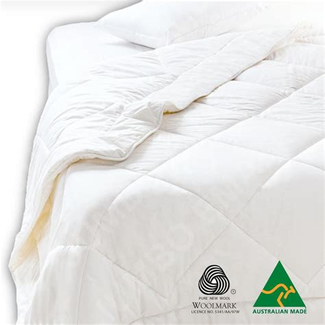 australian wool comforter australian made light weight luxury merino summer wool