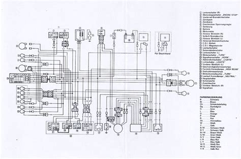 1990 yamaha xt 600 parts wiring diagrams wiring diagrams