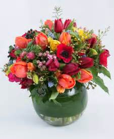 bright flower mix in a vase n1 flowers ltd