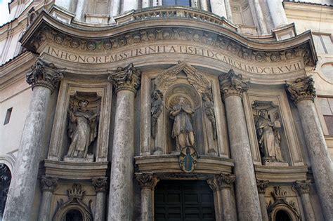 Baroque Interior San Carlo De Las Cuatro Fuentes Barroco Italiano