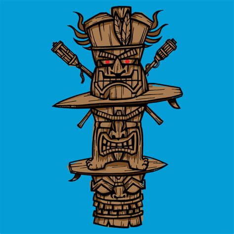 design by humans shipping time tiki time t shirt by wotto design by humans