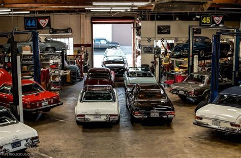 Mercedes Garage by Classic Mercedes Garage Garages The Ultimate Cave