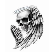 Angel Death Skull Motorcycle Helmet Vehicle Car Truck