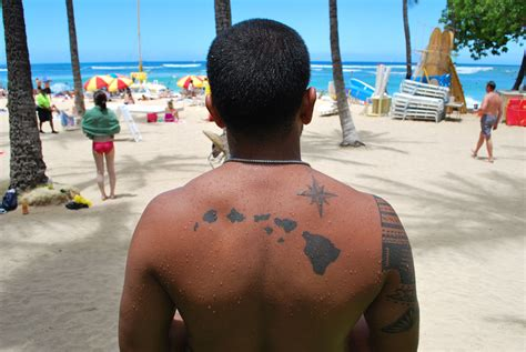 island tattoos hawaiian island search tattoos