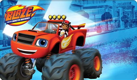 Nickalive Prepare For Monster Truck Adventures In Quot Blaze Blaze Truck