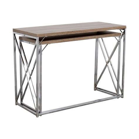 nesting console table set nesting console tables image collections bar height