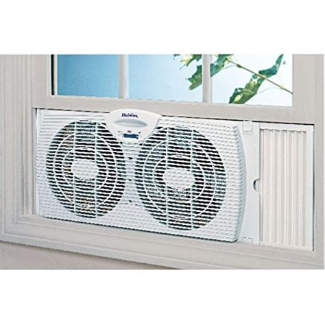 holmes dual blade twin window fan holmes dual blade twin window fan white the weed scene