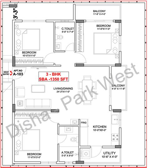 park west floor plan disha park west in varthur bangalore price location