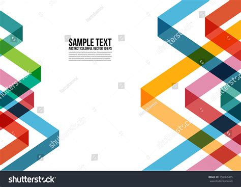 layout background poster abstract colorful triangle pattern background cover stock