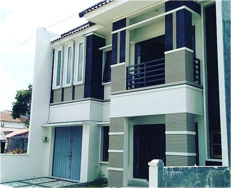 hasil gambar  desain eksterior rumah minimalis  lantai