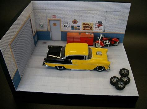 Diorama Werkstatt 1 24 by Car Garage Diorama Click On Link For Free Templates And